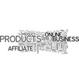 Affiliate products or create your own you decide