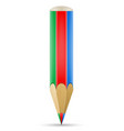 art creative pencil concept vector image vector image