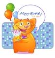 Birthday greetings vector image vector image