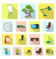 design of furniture and work logo vector image vector image