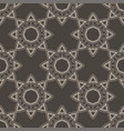 ethnic vintage abstract seamless geometric pattern vector image
