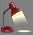 lighting table vector image