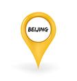 Location Beijing vector image