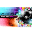 PArty Club Flyer for Music event PArty Club Flyer vector image vector image