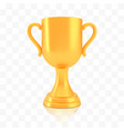 winner cup award golden trophy logo isolated