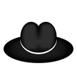 Black hat vector image