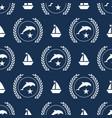 nautical spirit pattern vector image