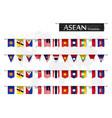 asean association southeast asian nations vector image vector image