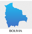 bolivia map in south america continent design vector image vector image