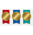 gold bestseller badge with ribbon transparent vector image