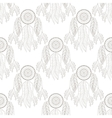Hand drawn tribal Dream catcher seamless pattern vector image