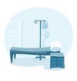 hospital ward vector image vector image