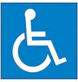 International symbol of access vector image