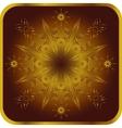 Ornate element for design vector image