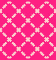 Pink abstract geometric seamless mesh pattern