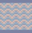 chevron abstract decor seamless pattern vector image vector image