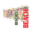 great beaches on grand bahama island in the vector image vector image