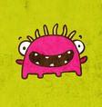Happy Monster Cartoon vector image vector image
