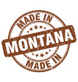 made in montana vector image vector image