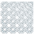 Pale grey geometric seamless pattern vector image