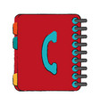 phone book icon image vector image vector image