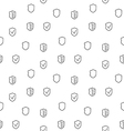 Security seamless pattern vector image vector image
