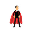 strong and powerful business man standing in vector image vector image