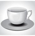 Tea coffee cup vector image