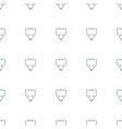 bear icon pattern seamless white background vector image vector image