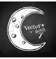 Crescent vector image vector image
