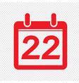 Date calendar icon sign design style