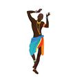 Ethnic dance african man vector image vector image