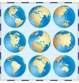 global set vector image vector image