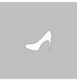 high heels computer symbol vector image