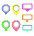 Map set of pointers vector image vector image