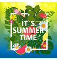 summer abstract background vector image vector image