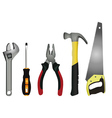 tools vector image vector image
