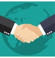 Worldwide cooperation concept vector image vector image