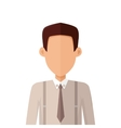 Young Man Private Avatar Icon vector image vector image