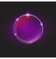 Energy abstract glow circles vector image