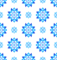 Seamless embroidered texture of abstract patterns vector image