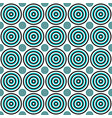 abstract geometrical circle pattern background vector image vector image