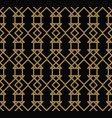 abstract seamless pattern geometric line gold vector image