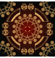abstract seamless pattern with floral ornaments vector image vector image