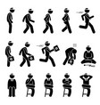 basic doctor movements and actions stick figure
