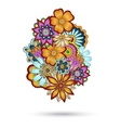 Henna Paisley Mehndi Floral Element vector image vector image
