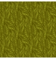 Leaves pattern background vector image