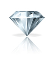 object diamond vector image vector image
