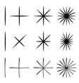 scribble black symbol vector image