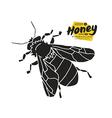 Stock of honey bee vector image